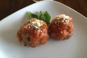 No carb meatballs