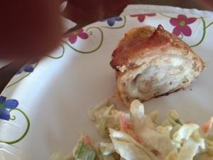 kickn chicken sliced